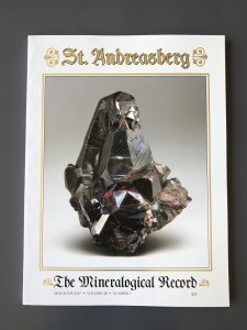 Mineralogical Record publication printed at Allen Press