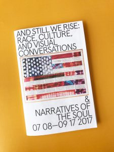 """Spencer Museum of Art """"And Still We Rise"""" Exhibition Brochure – Brochures"""